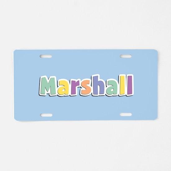 Marshall Spring14 Aluminum License Plate