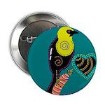"""yellow-headed blackbird 2.25"""" Button (10 pack)"""