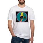 yellow-headed blackbird Fitted T-Shirt