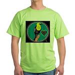 yellow-headed blackbird Green T-Shirt