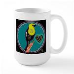 yellow-headed blackbird Large Mug