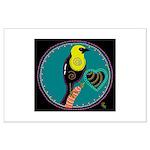 yellow-headed blackbird Large Poster