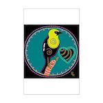 yellow-headed blackbird Mini Poster Print