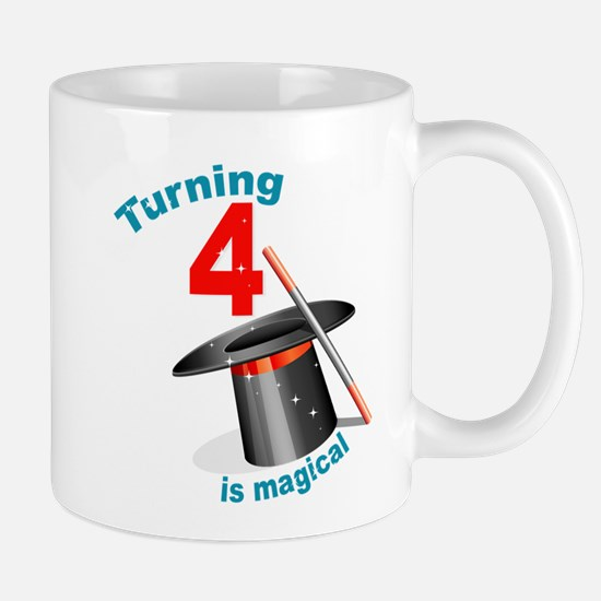 4th Birthday Magic Show Mug