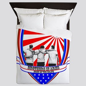 BROTHERS IN ARMS Queen Duvet