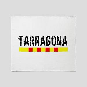 Catalunya: Tarragona Throw Blanket