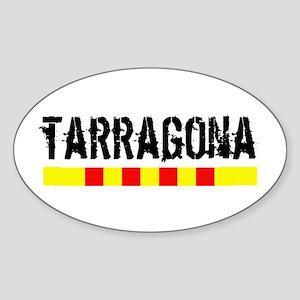 Catalunya: Tarragona Sticker (Oval)