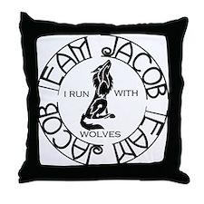team-j.png Throw Pillow