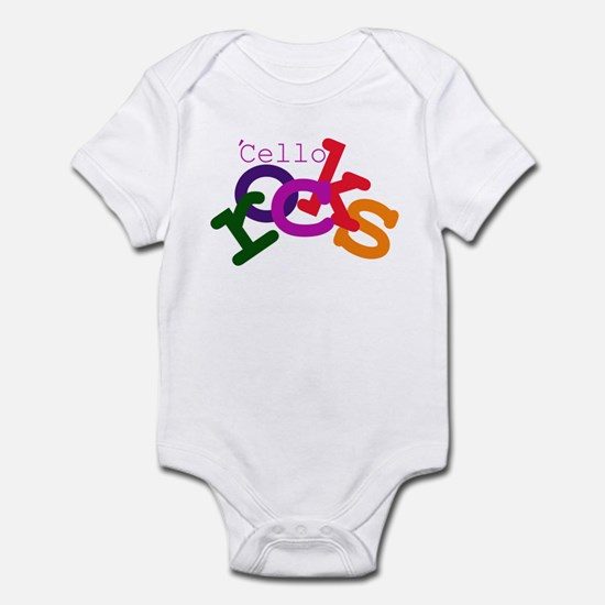 'Cello Rocks Infant Bodysuit