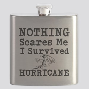 Nothing Scares Me I Survived Hurricane Flask