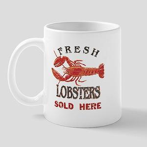 Fresh Lobsters Mug