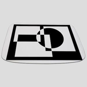 Squares And Circle Design #9 Bathmat