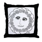 Wise Rose Throw Pillow