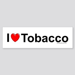 Tobacco Sticker (Bumper)