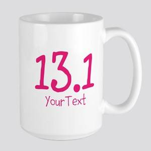 Customize Pink 13.1 (center) Mugs