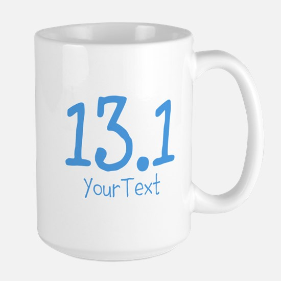 Customize Blue 13.1 (center) Mugs