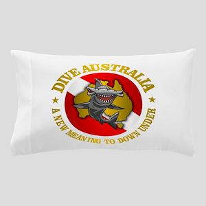 Dive Australia (hammerhead) Pillow Case