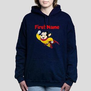Mighty Mouse Women's Hooded Sweatshirt