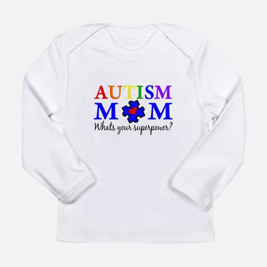 Autism Mom Superpower Long Sleeve T-Shirt