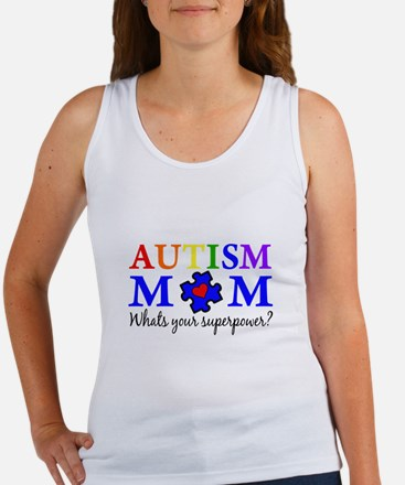 Autism Mom Superpower Tank Top