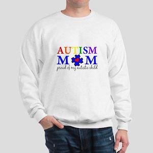 Autism Mom Proud Sweatshirt