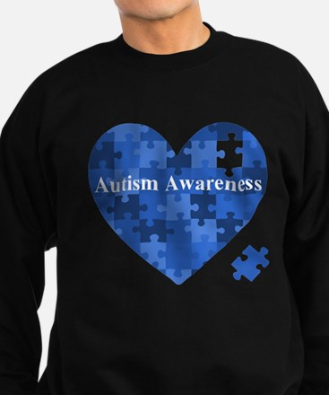 Autism Awareness Heart Sweatshirt