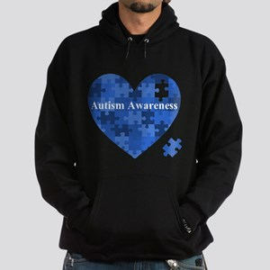 Autism Awareness Heart Hoodie