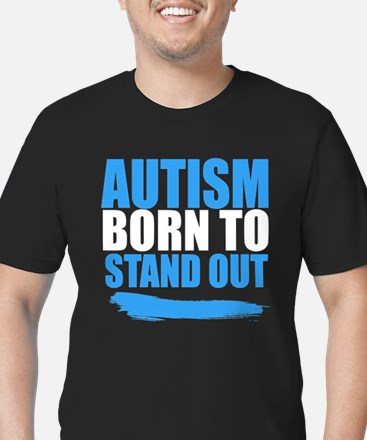Autism Born to Stand Out T-Shirt
