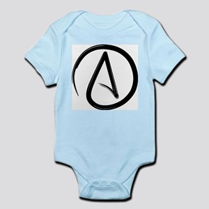 Atheist Symbol Body Suit