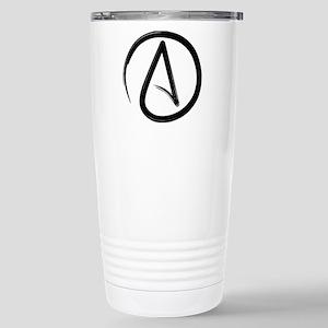 Atheist Symbol Travel Mug
