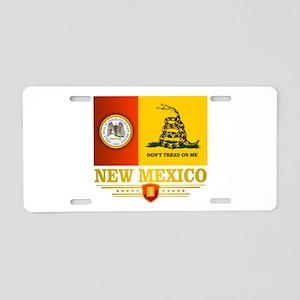 New Mexico Gadsden Flag Aluminum License Plate