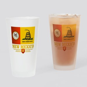 New Mexico Gadsden Flag Drinking Glass
