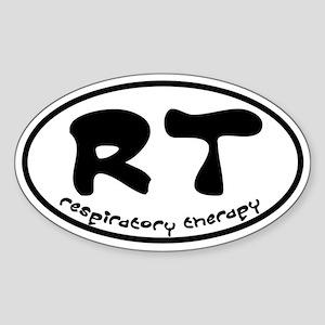 Respiratory Therapy - Athleti Oval Sticker