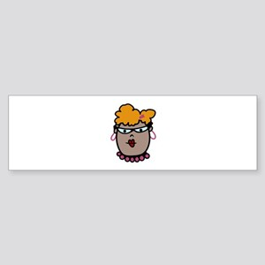 Fashion Lady Bumper Sticker