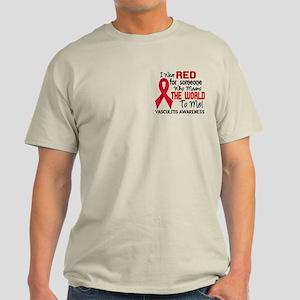 Vasculitis MeansWorldToMe2 Light T-Shirt