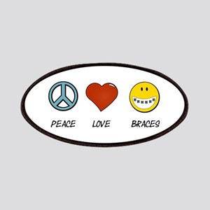 Peace.Love.Braces Patch