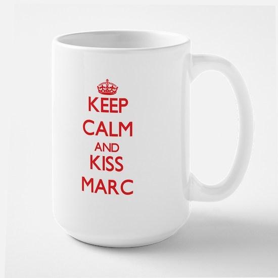Keep Calm and Kiss Marc Mugs