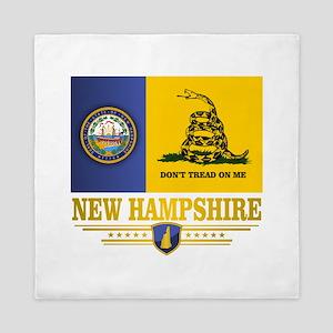 New Hampshire Gadsden Flag Queen Duvet