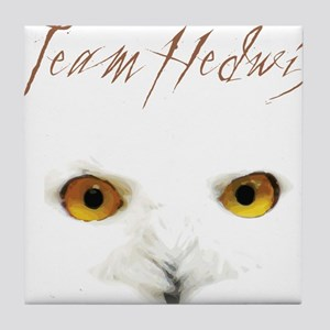 Team Hedwig Tile Coaster