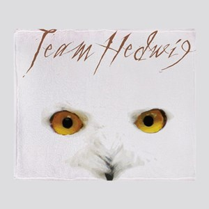 Team Hedwig Throw Blanket