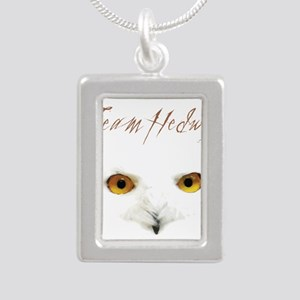 Team Hedwig Silver Portrait Necklace