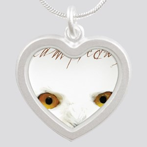 Team Hedwig Silver Heart Necklace