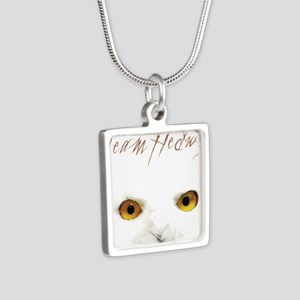 Team Hedwig Silver Square Necklace