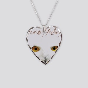 Team Hedwig Necklace Heart Charm