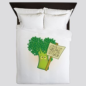"""Eat Me!"" Vegetarian Queen Duvet"