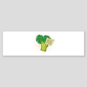 """Eat Me!"" Vegetarian Sticker (Bumper)"