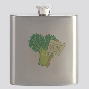 """Eat Me!"" Vegetarian Flask"