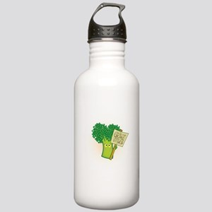 """Eat Me!"" Vegetarian Stainless Water Bottle 1.0L"