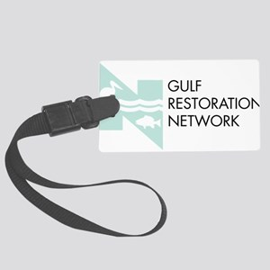 Gulf Restoration Network Large Luggage Tag