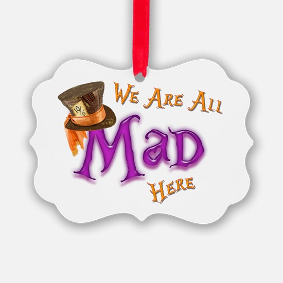 All Mad Ornament